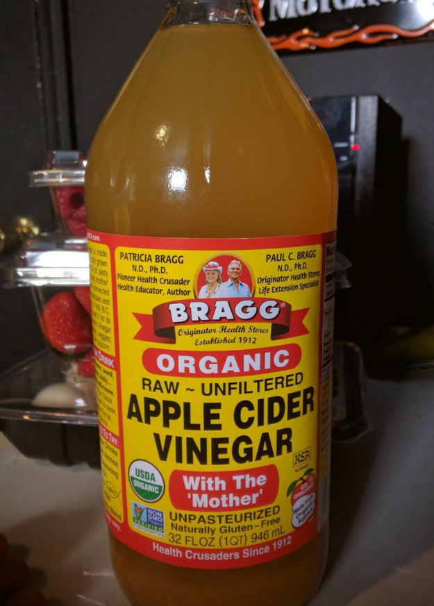 If Tums aren't working, try drinking some apple cider vinegar to help reduce heartburn.