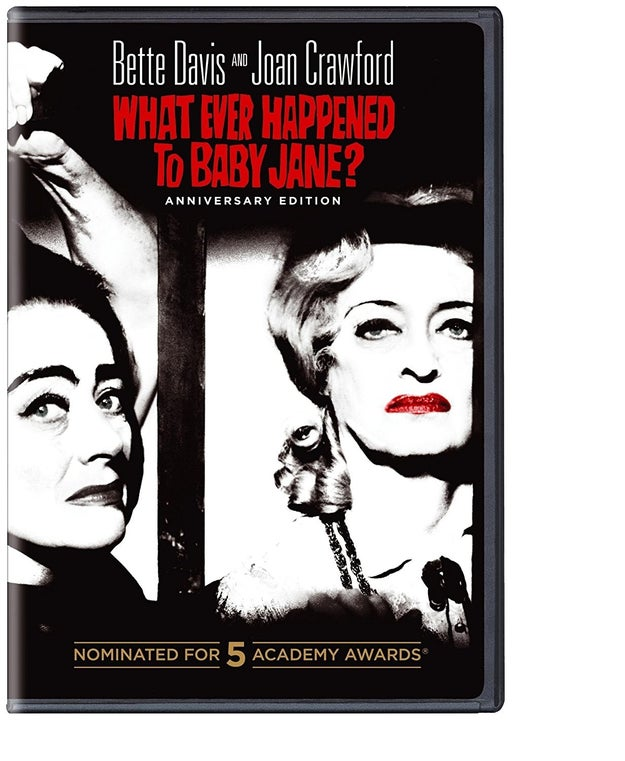 And a copy of What Ever Happened to Baby Jane? to watch before the premiere of FEUD: Bette and Joan.