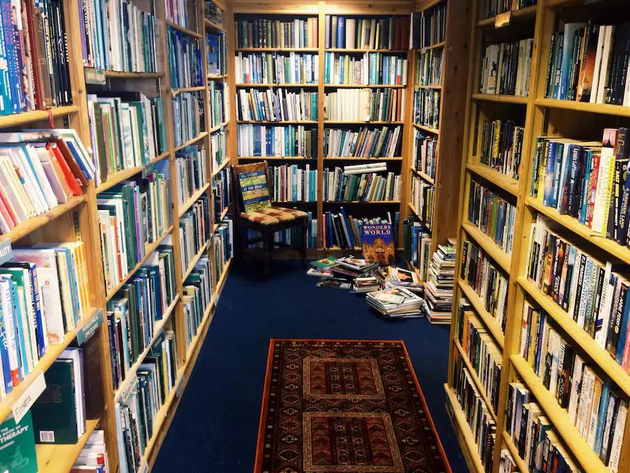 This Scottish Lowlands bookshop.