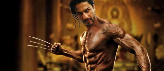 For those who are wondering, here's an idea of what Shah Rukh would look like in the role.