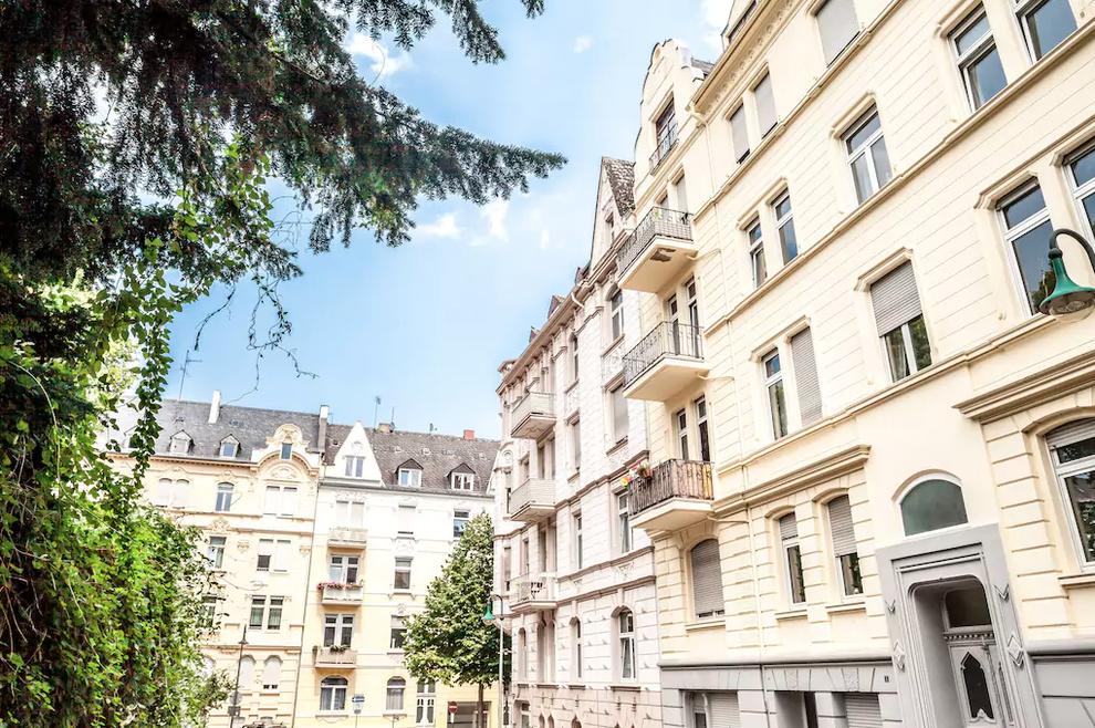 This bohemian German apartment.