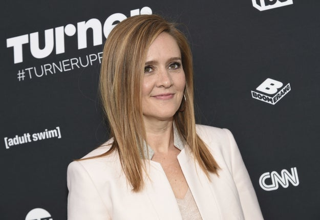 TV host Samantha Bee has apologized after her show staff made fun of the haircut of a man they did not realize had cancer.