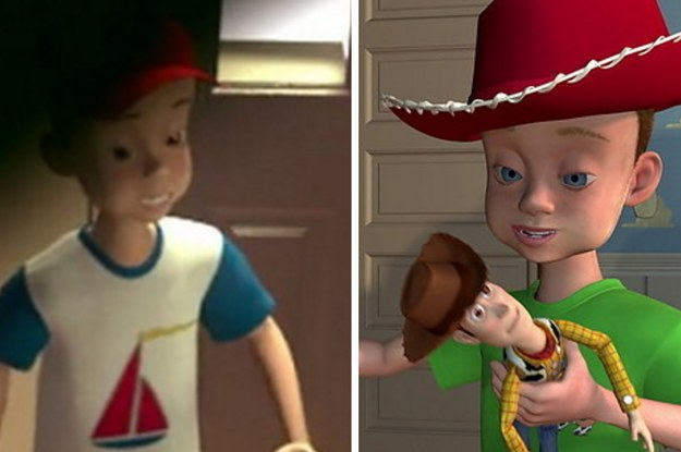Andy S Friends From Toy Story Share His Face And It S Terrifying