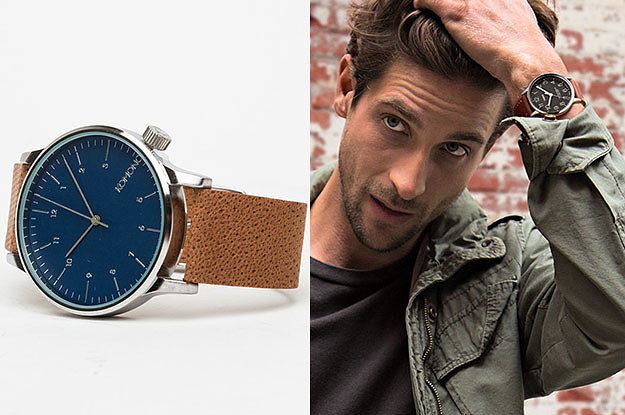 19 Men's Watches You'll Never Get Sick Of Looking At
