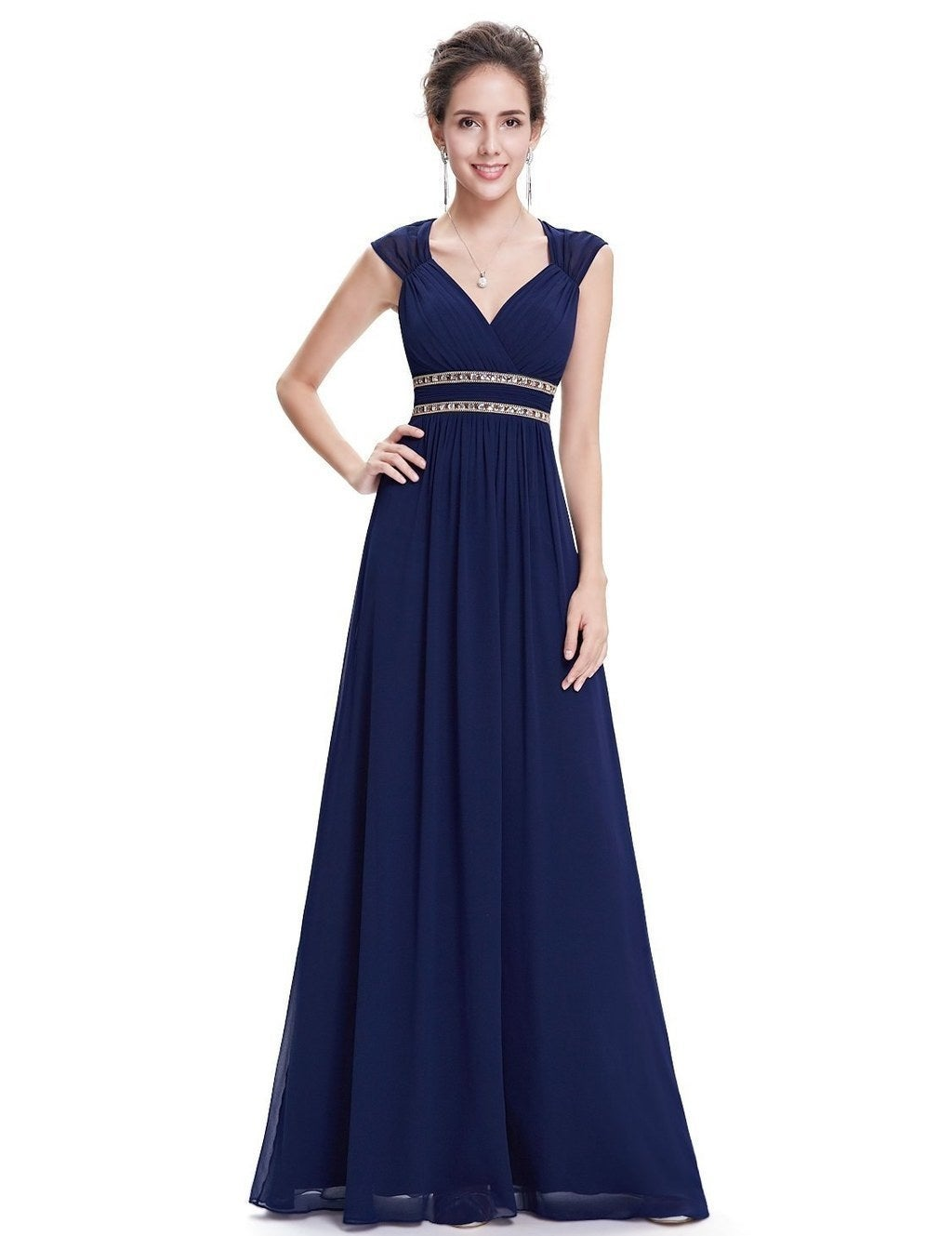 A Grecian Style Dress Suitable For Any Fat Wedding Will Also Make You Say To The Bride Why Want Leave Me