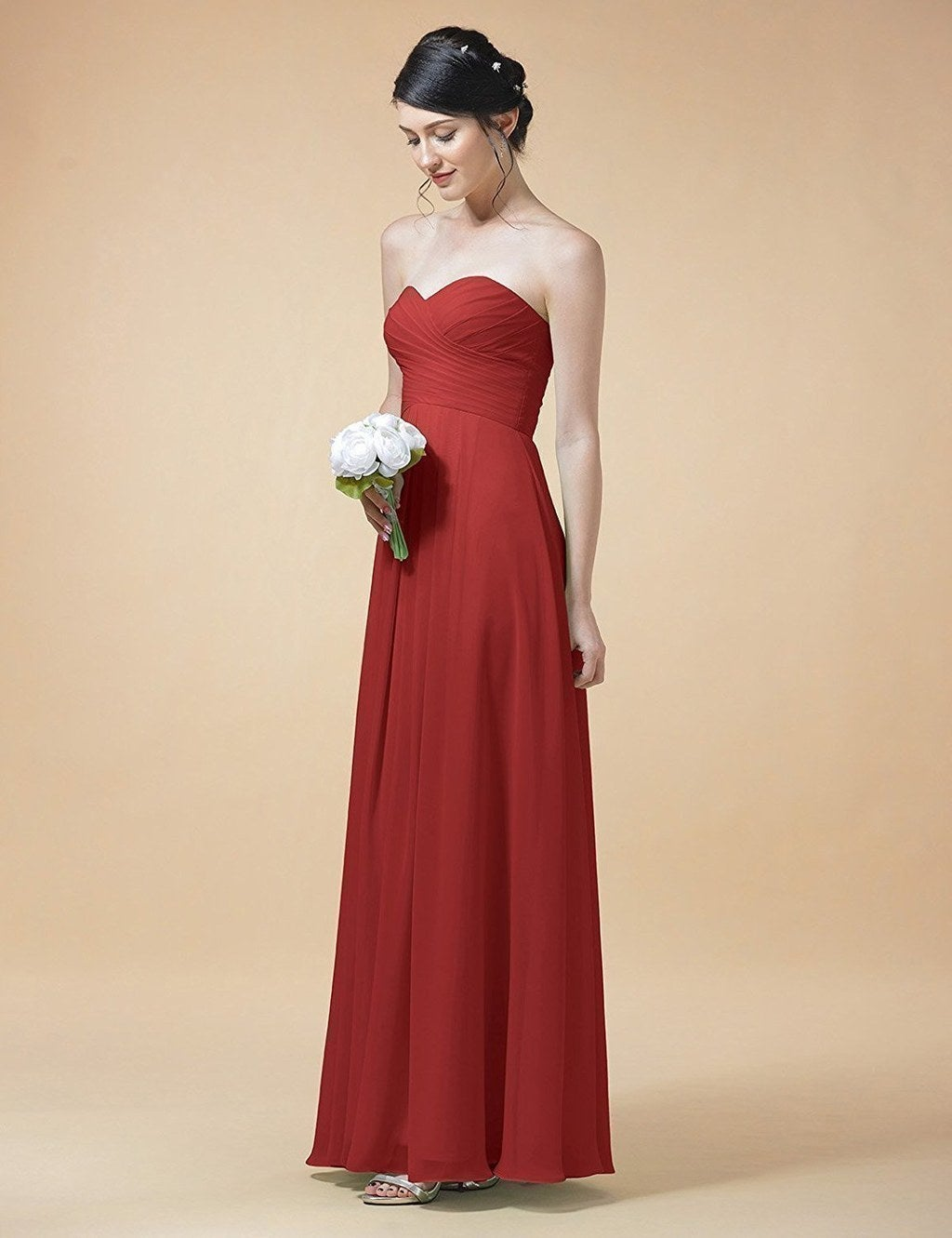 20 bridesmaid dresses you can get on amazon that your friends will a strapless number with a corset back meaning you wont be hoisting up your cleavage every five seconds hooray ombrellifo Image collections