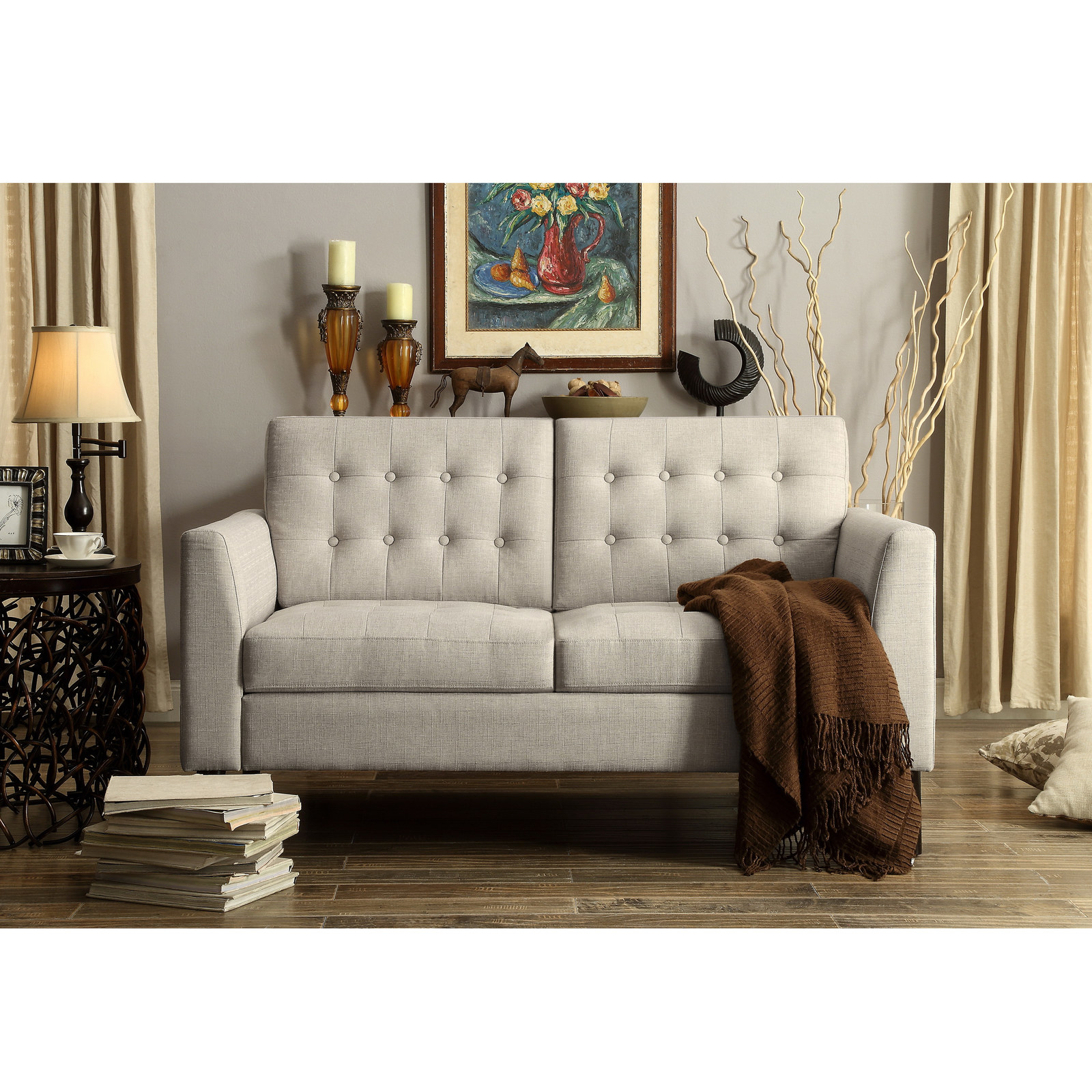 A Loveseat Thatu0027ll Make You Grab Your Softest Blanket, Your Favorite Book,  And A Steaming Cup Of Coffee.