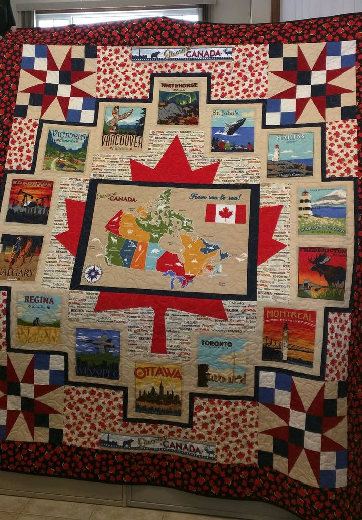 This Canadian Grandma Made A Very Wholesome Gift For Her Family To ... : quilt canada - Adamdwight.com