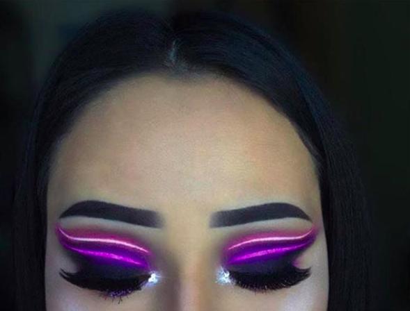 Pero, ¿un look épico de maquillaje?