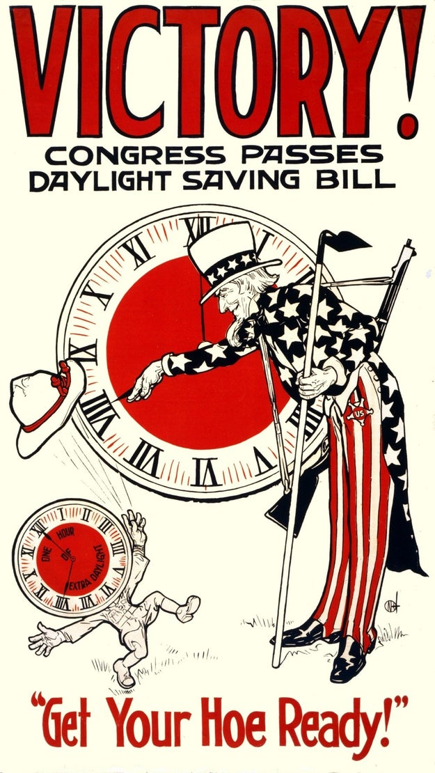 Despite the association with farmers, daylight saving time actually came to the United States thanks to business owners (and war).