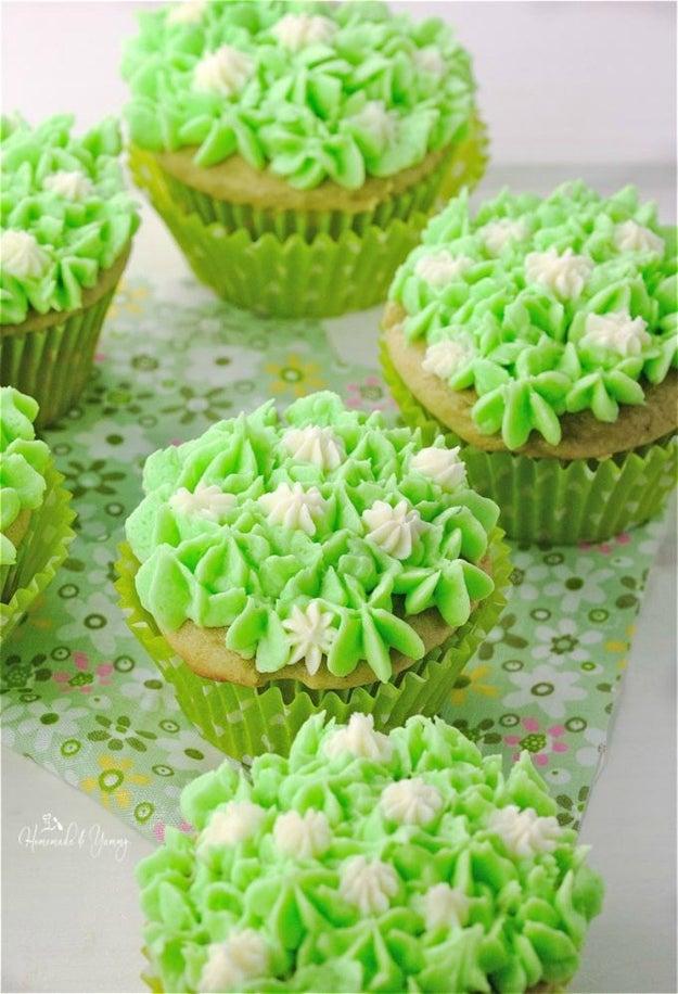 Vanilla Green Tea Cupcakes