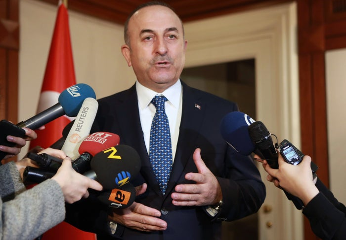 """However, on Friday, Rotterdam authorities revoked his permit to address the rally, a move that led Cavusoglu to threaten sanctions against the Netherlands.""""If the Netherlands cancels my flight, we will impose severe sanctions on them that will affect it economically and politically,"""" he told CNN Turk."""
