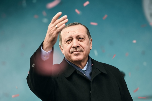 Turkey's President Sure Is Calling A Lot Of People Nazis These Days