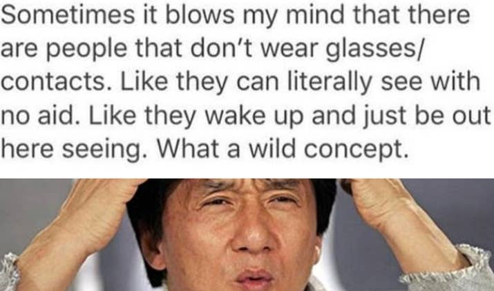 Memes About Wearing Glasses That Will Make You Laugh Until Your - 20 jokes people wear glasses will truly understand
