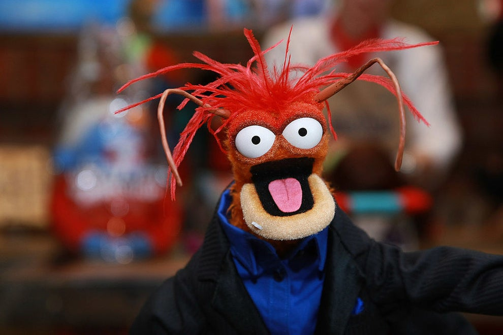 "Pepe the King Prawn is based on Bill Barretta's wife's aunt. When a Muppet Show writer asked him to describe the aunt, Barretta accidentally described her as ""shellfish"" instead of ""selfish,"" and the character was born."