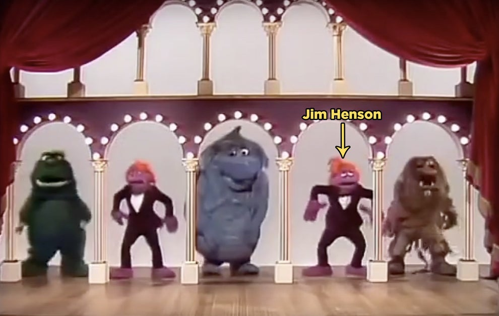 Henson appears as one of the puppets in the opening to The Muppet Show.
