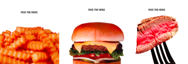 But now, more than 50 years later (per the show's timeline), Heinz is turning Don's creative vision into an actual advertisement, using the same images.