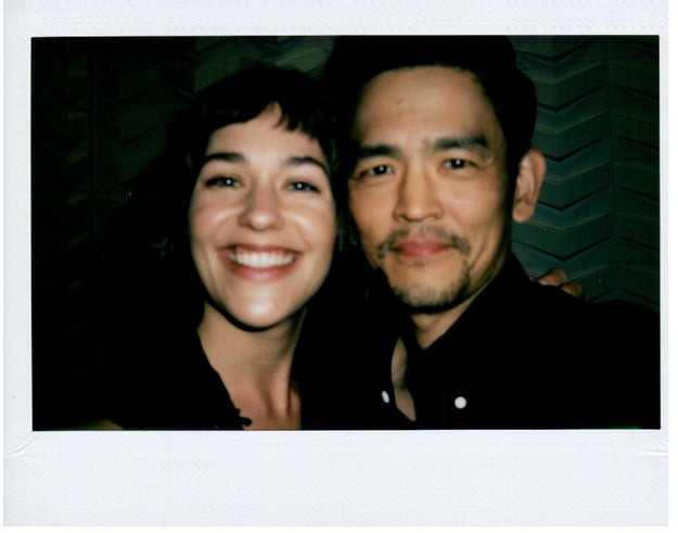 William Callan for BuzzFeed News Gemini stars Lola Kirke and John Cho