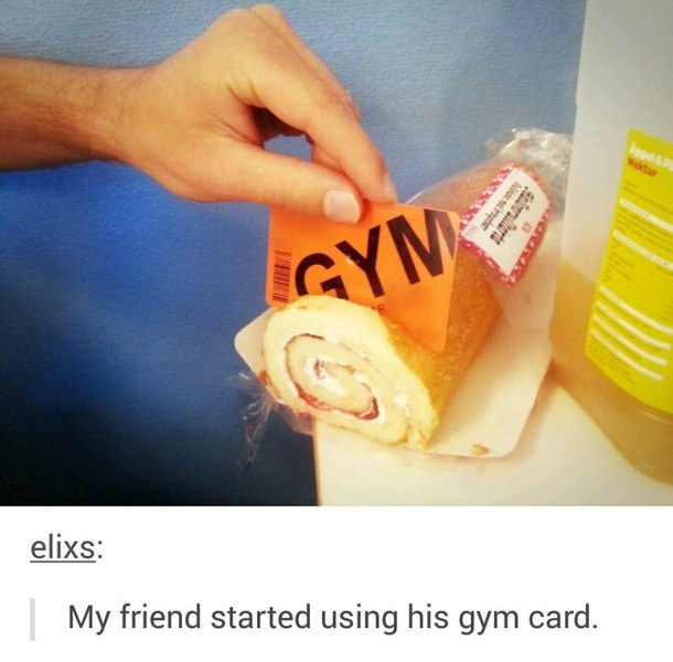 The best way to use a gym card: