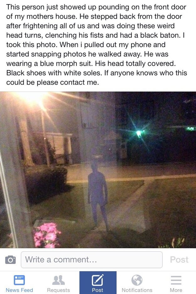 Or just seeing this person waiting for you outside: