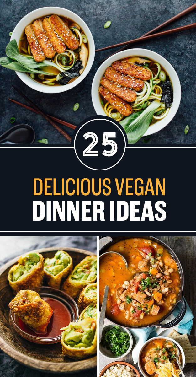 25 Vegan Weeknight Dinner Recipes With No Meat Or Dairy