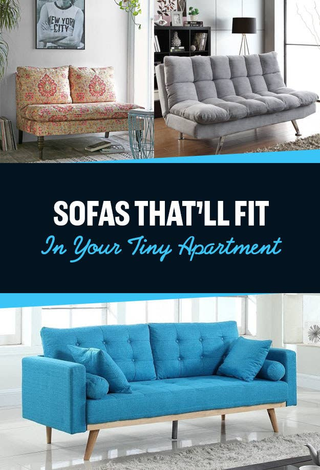 21 Sofas For Anyone Who Doesn\'t Have A Lot Of Space