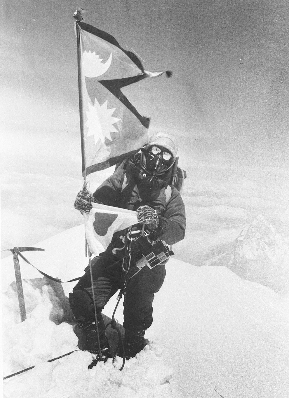 Junko Tabei, the first woman to climb Mount Everest.
