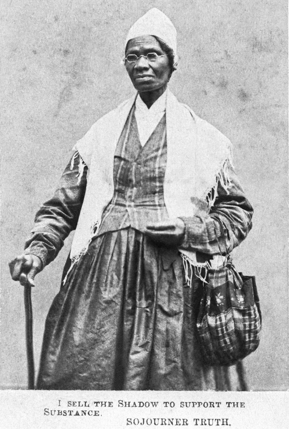 Sojourner Truth, abolitionist and women's rights advocate.