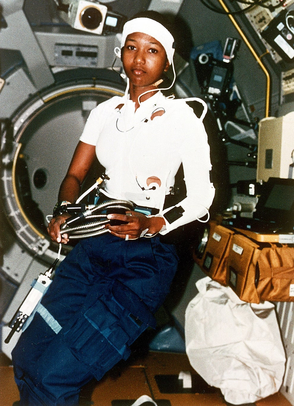 Dr. Mae C. Jemison, engineer, physician, and first black woman to orbit Earth.