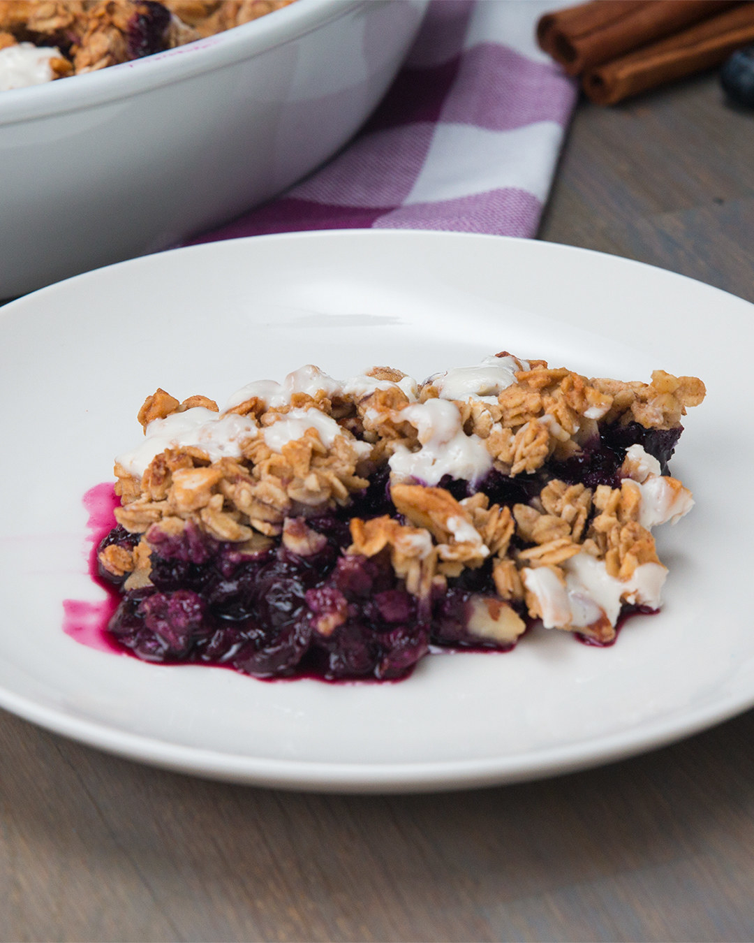This Healthy Blueberry Crisp Is The Perfect Dessert For Spring