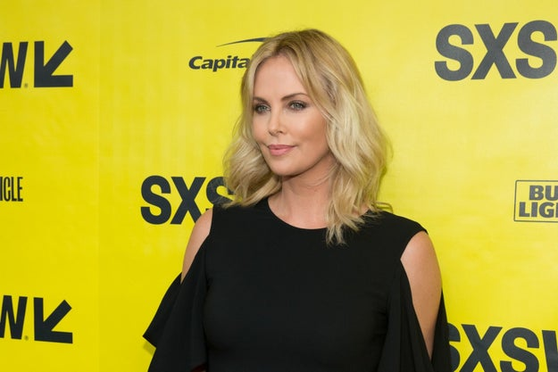 Charlize Theron was hanging out in Austin, Texas this weekend for the premiere of her new film, Atomic Blonde, at the SXSW Film Festival.