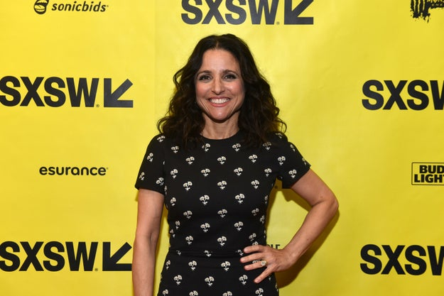Unsurprisingly, the panelists first addressed how much President Donald Trump has influenced the show's new season, which centers on the inept former Vice President-turned-President, Selina Meyer (Louis-Dreyfus).