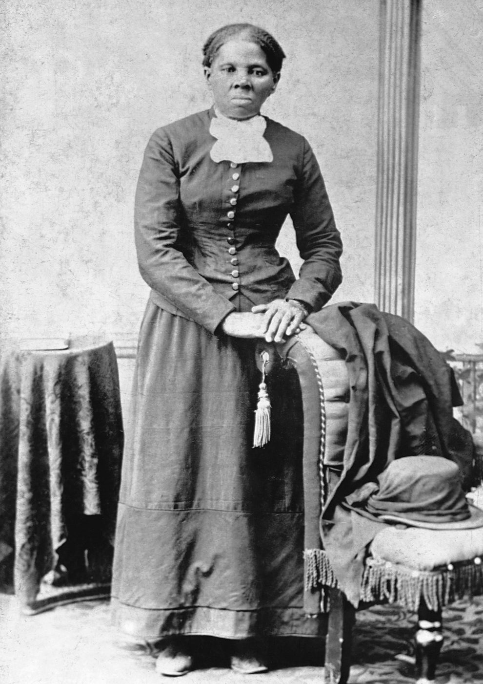 Harriet Tubman, American abolitionist and armed spy for the Union Army during the American Civil War.