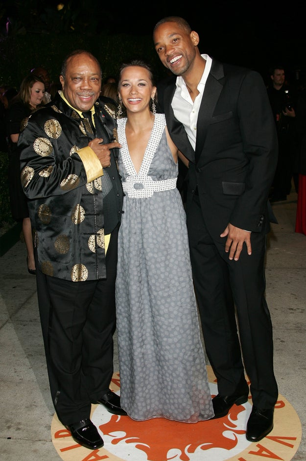 Quincy Jones was on board as an executive producer. The show ended up being based on his family.