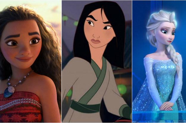 Estas Son Todas Las Princesas Disney Ordenadas De Menos A