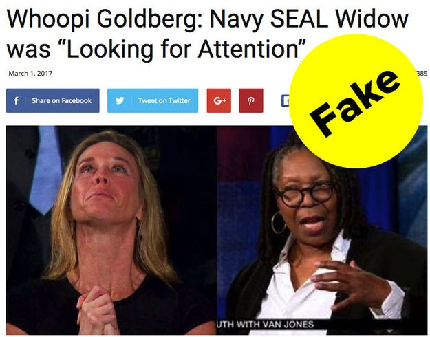 Whoopi Goldberg has been the subject of many fake news stories — but one in particular caused her to recently address the issue on The View.