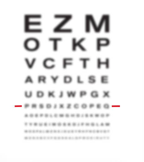 6ba5abf6987 Only People With 20 20 Vision Can Pass This Eye Chart Test
