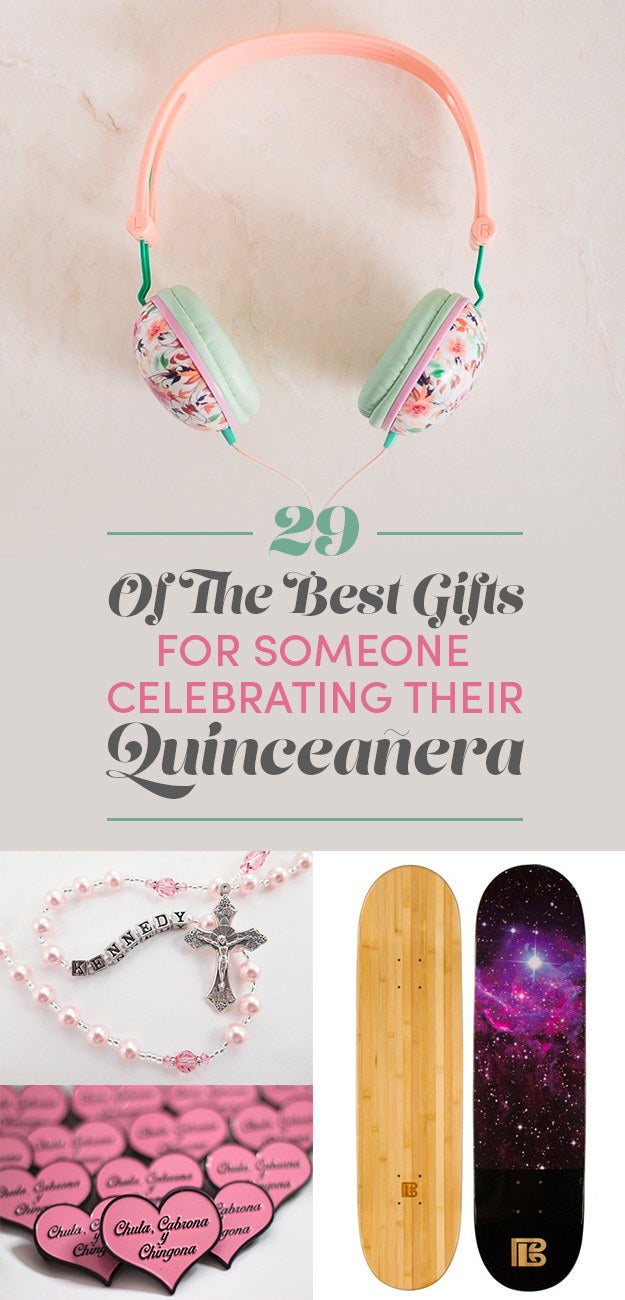 29 of the best gifts for someone celebrating their quinceañera