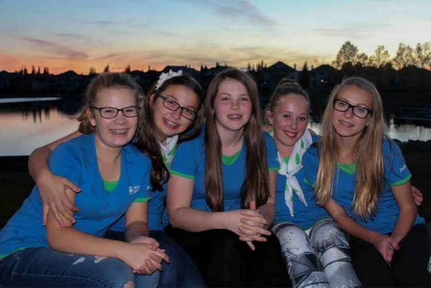 the girl guides of canada