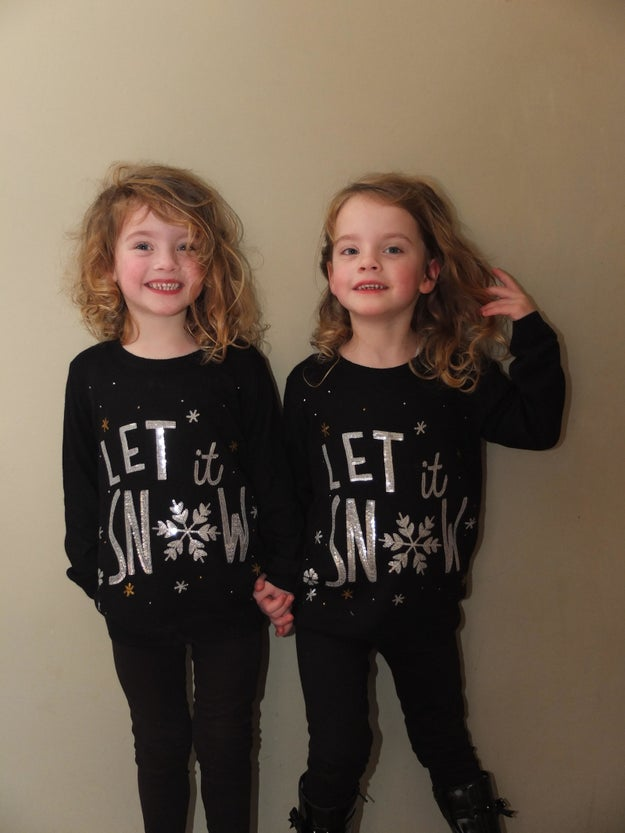 Meet Poppy and Isabella, 4-year-old identical twin girls from England who are already skilled at pranking.