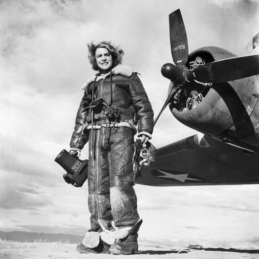 Margaret Bourke-White, the first American female war correspondent.