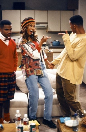 Tyra Banks made her acting debut on the show as Will's girlfriend.