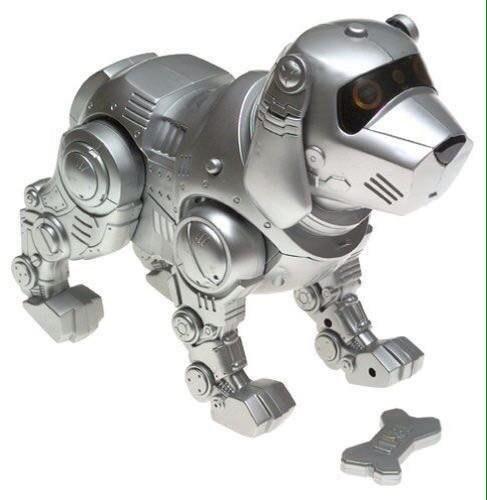 Robotic animals.