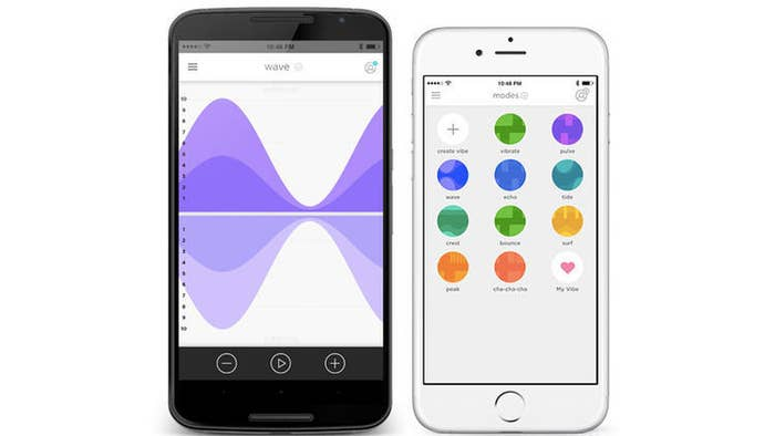 We-Vibe's app, We-Connect