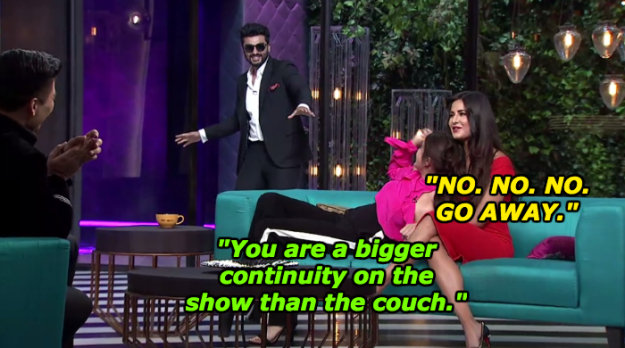 When Arjun Kapoor received a warm welcome from Anushka Sharma and Katrina Kaif.