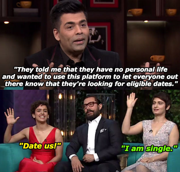 When Sanya Malhotra and Fatima Sana Shaikh just wanted some dates.
