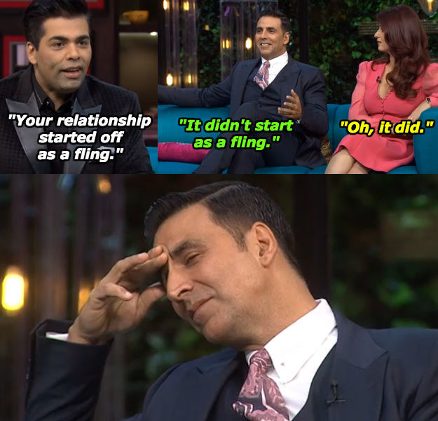 When Twinkle Khanna and Akshay Kumar weren't on the same page about the start of their love story.