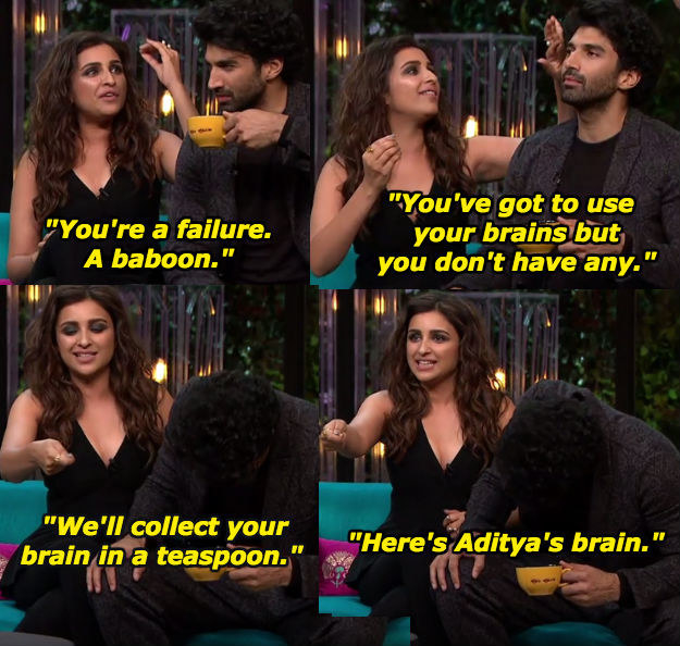 When Parineeti Chopra didn't hold back while ragging on Aditya Roy Kapur.