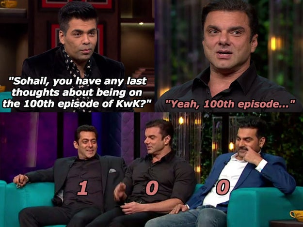 When Sohail Khan made a self-aware burn and dragged Arbaaz Khan to the bottom with him.