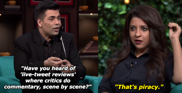 When Zoya Akhtar had another term for live-tweet movie reviews.